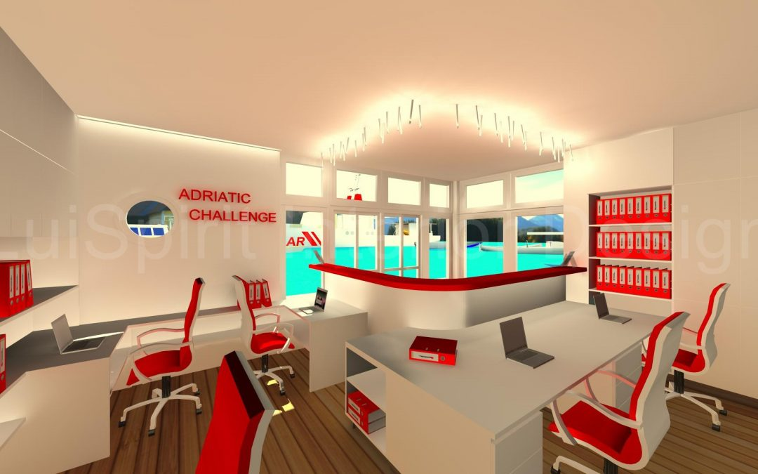 Sailing charter office – front office